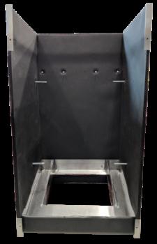 Housing - Front - Transparent 400x500