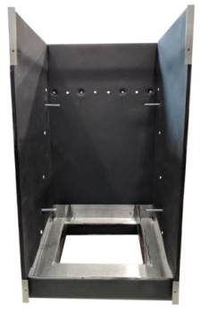 Empty Retrofit Vertical Fan Coil Cabinet