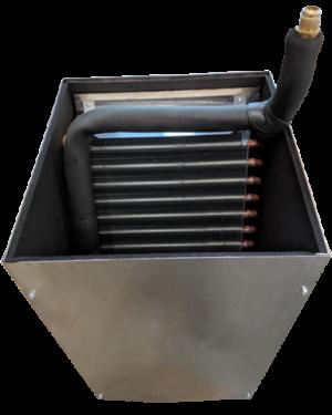Retrofit Fan Coil Cabinet and Coil