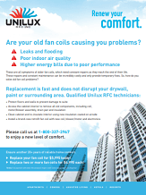 Are your old fan coils causing you problems