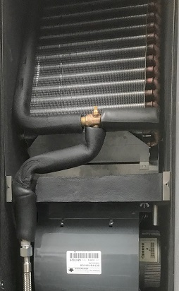 New Fan Coil Installed