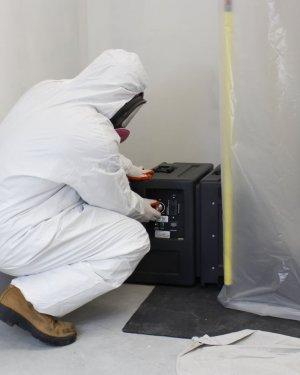 Preparing for retrofit fan coil removal